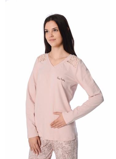 Pierre Cardin Pierre Cardin Kadın Pijama Takımı Pudra